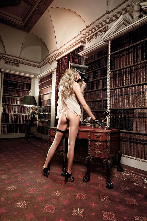 Baci Lingerie Комплект женского белья Agent Of Love: пеньюар, трусики. BL938