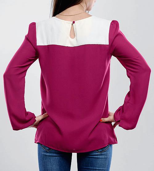 Блузка С Застежкой Сзади