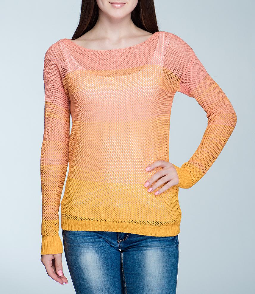 Джемпер100731Симпатичный женский джемпер ICHI, выполненный из высококачественного материала, - находка для современной женщины, желающей выглядеть стильно и модно. Модель свободного кроя с круглым вырезом горловины, длинными рукавами выполнен оригинальной вязкой. Такая модель, несомненно, вам понравится и послужит отличным дополнением к вашему гардеробу.