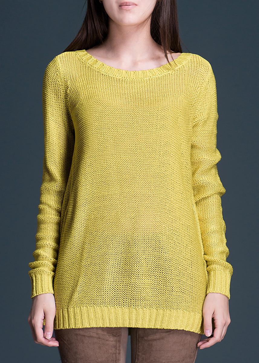 Пуловер321110-5937Стильный вязаный женский пуловер Ichi, изготовленный из акрила, мягкий и приятный на ощупь, не сковывает движения, обеспечивая наибольший комфорт. Комфортный пуловер свободного кроя с круглым вырезом горловины имеет длинные рукава. Этот пуловер - практичная вещь, которая, несомненно, впишется в ваш гардероб, в нем вы будете чувствовать себя уютно и комфортно.