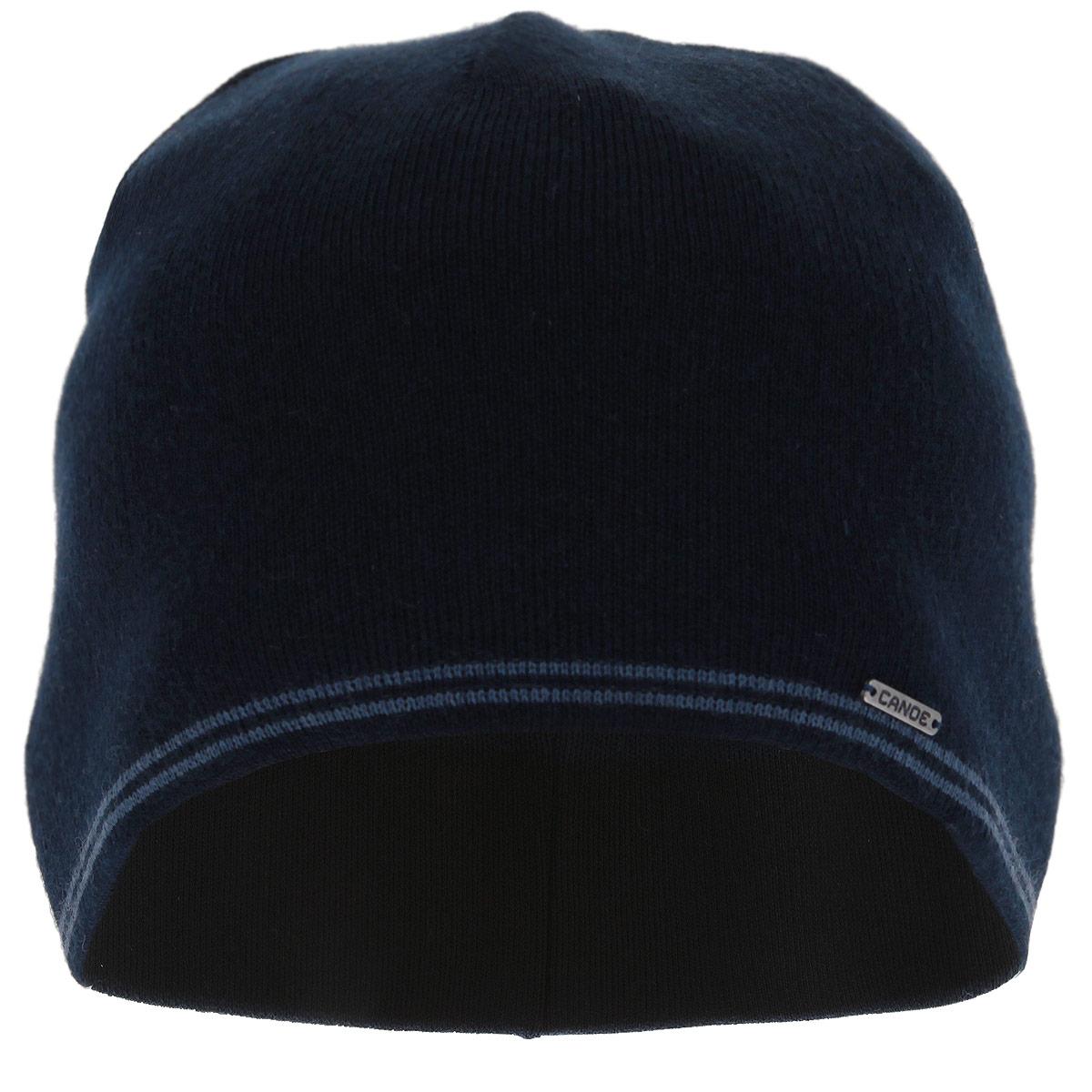 Шапка мужская Pitt. 3445783445781Мужская шапка Canoe Simp - классическая шапка из полушерстяной пряжи с внутренней вставкой по технологии Coolmax, которая отлично дополнит ваш образ в холодную погоду. Влагоотводящее полотно плотно прилегает к коже и выводит влагу быстрее. Волокно Coolmax - идеальный материал для занятий спортом с высокими нагрузками. Сочетание различных материалов максимально сохраняет тепло и обеспечивает удобную посадку. Оформлено изделие небольшой металлической пластиной с названием бренда. Такая шапка составит идеальный комплект с модной верхней одеждой, в ней вам будет уютно и тепло! Изделие проходит предварительную стирку и последующую обработку специальными составами и паром для улучшения износоустойчивости, комфорта и приятных тактильных ощущений. Структура шерсти после обработок по новейшим технологиям приобретает легкость, мягкость, морозоустойчивость, становится пушистой, не продуваемой. Изделие долго сохраняет заданную форму.