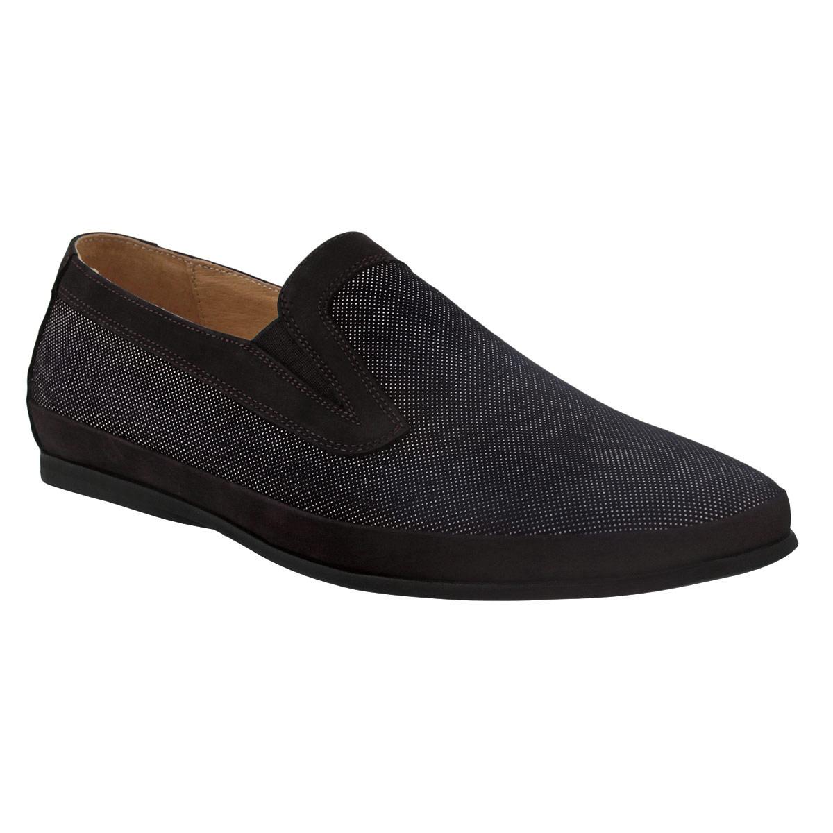 Туфли мужские. M1359M13593Стильные мужские туфли Vitacci внесут элегантные нотки в модный образ. Модель изготовлена из натуральной замши и декорирована вставками из натурального нубука по канту и по ранту, задним ремнем из нубука. Туфли оформлены узором в мелкий горох, стилизованным под перфорацию. Резинки, расположенные на подъеме, обеспечивают оптимальную посадку модели на ноге. Подкладка и стелька из натуральной кожи комфортны при ходьбе. Подошва с рифлением не скользит. Изысканные туфли не оставят равнодушным ни одного мужчину.