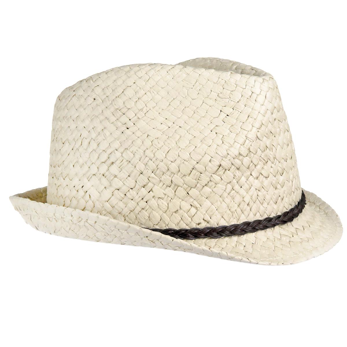 1963762Стильная летняя шляпа Canoe Togo, выполненная из искусственной соломы, станет незаменимым аксессуаром для пляжа и отдыха на природе, и обеспечит надежную защиту головы от солнца. Шляпа оформлена декоративным плетеным ремешком. Плетение шляпы обеспечивает необходимую вентиляцию и комфорт даже в самый знойный день. Шляпа легко восстанавливает свою форму после сжатия. Такая шляпа подчеркнет вашу неповторимость и дополнит ваш повседневный образ.