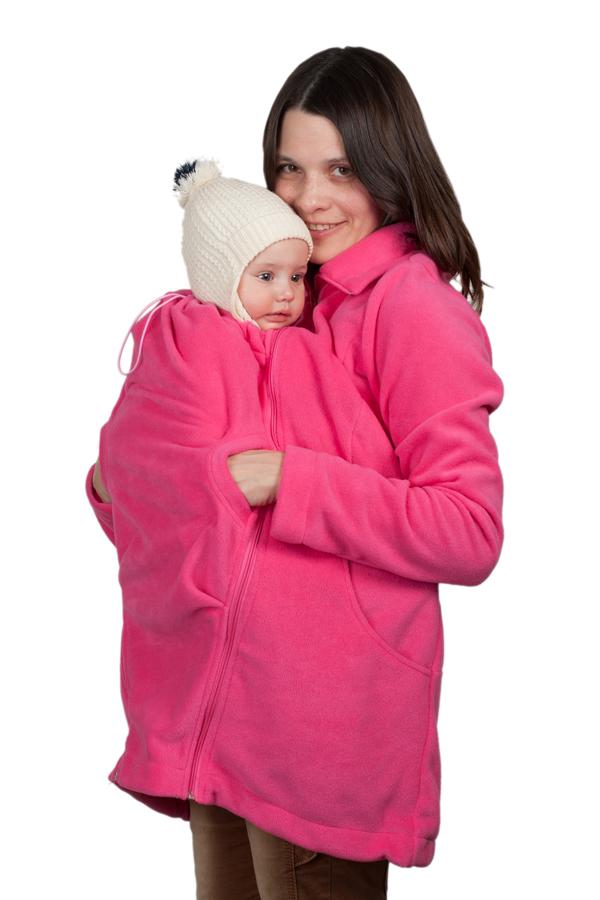 КурткаМПФ03-00MКомфортная флисовая слингокуртка 3в1 Чудо-Чадо Мама плюс, изготовленная из 100% полиэстера (флиса оптимальной плотности 220 г/м2) - настоящая находка для энергичных и активных мам. Такой флис очень хорошо держит тепло и лучше терморегулирует. Поэтому куртку можно носить при температуре от +5°С (с поправкой на индивидуальность и количество остальной одежды), а благодаря небольшой толщине удобно использовать как поддевку зимой. Кроме того, по сравнению с обычным флисом, полар приятнее на ощупь, не скатывается, не деформируется, не садится и долго сохраняет цвет. Вместе с малышом вы сможете гулять, путешествовать и просто заниматься разными делами. Слингокуртку можно носить во время беременности - со вставкой для беременных (беременный животик на любом сроке поместится за счет свободного кроя), носите малыша под курткой после родов, используя капюшон для малыша, и безо всяких вставок - для повседневной жизни. Главные особенности куртки - прорези на уровне груди, благодаря которым,...