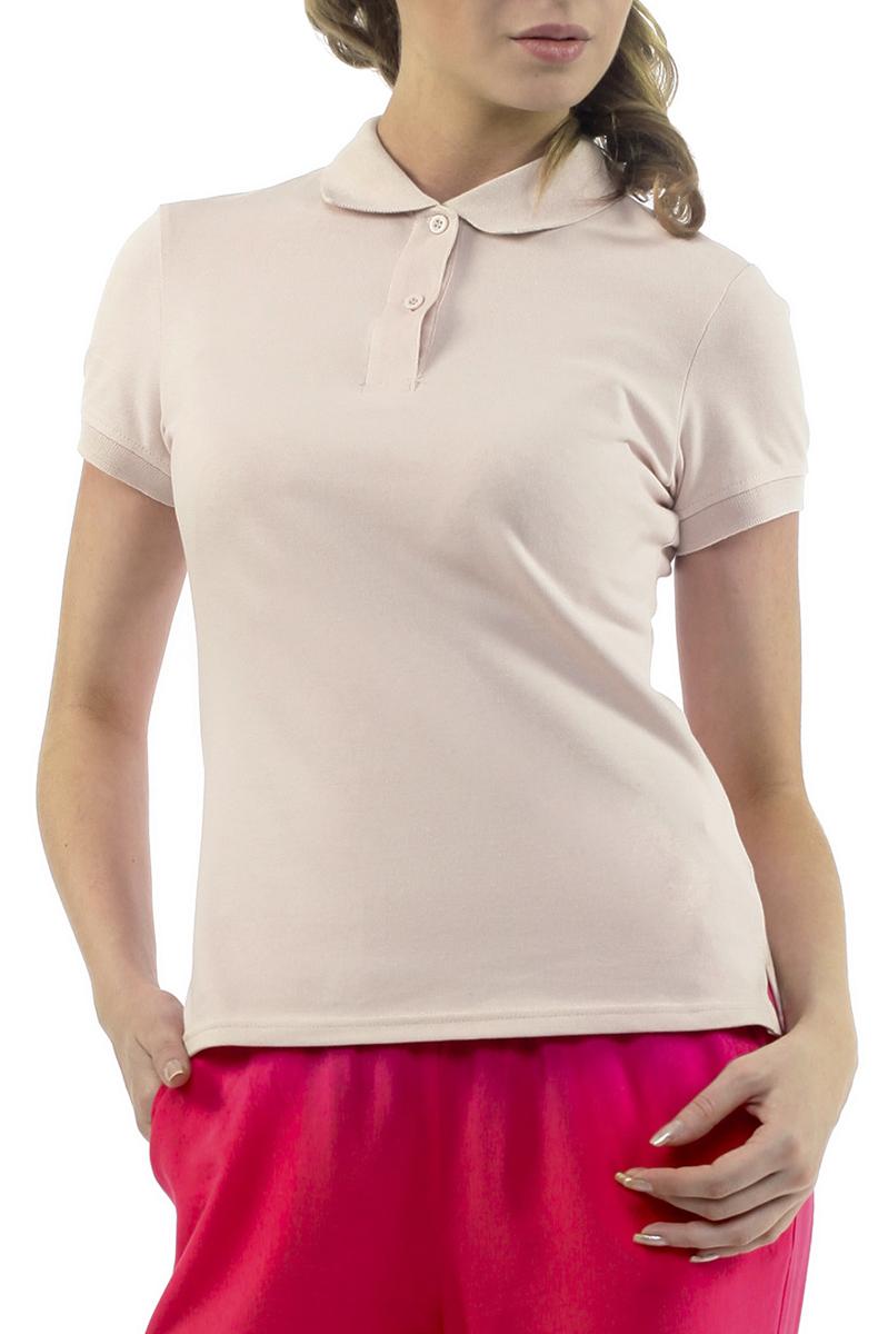 Футболка-поло женская. B205204B205204Стильная женская футболка-поло Baon с короткими рукавами, изготовленная из натурального хлопка с небольшим добавлением эластана, необычайно мягкая и приятная на ощупь, не сковывает движения, обеспечивая наибольший комфорт. Модель прямого кроя дополнена отложным воротником-поло и застежкой на две пуговицы. Футболка-поло - отличный вариант для создания образа в стиле Casual.