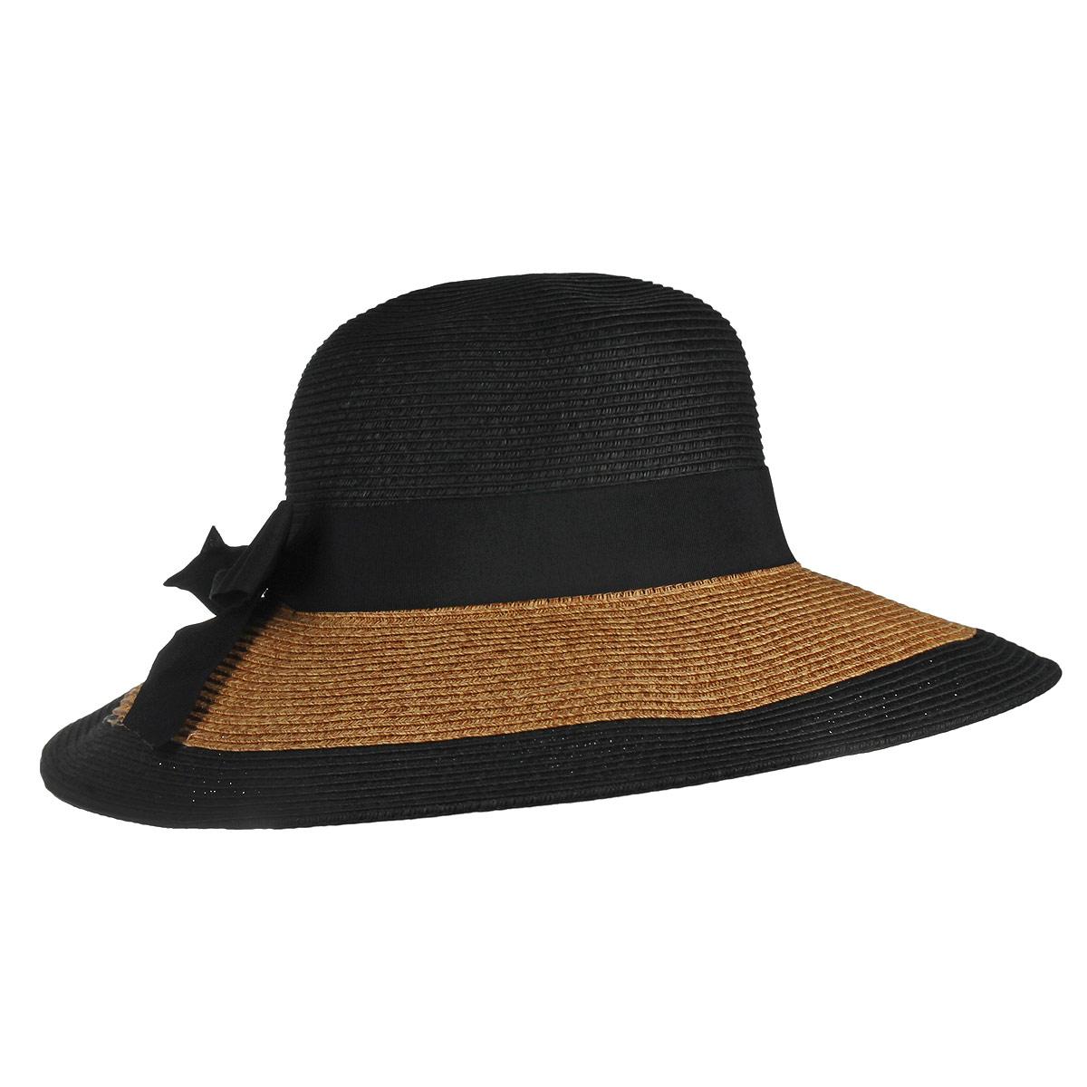 1966130Очаровательная летняя шляпа Canoe Elegance, выполненная из искусственной соломы и прочного полиэстера, станет незаменимым аксессуаром для пляжа и отдыха на природе. Широкие поля шляпы обеспечат надежную защиту от солнечных лучей. Шляпа оформлена декоративной лентой с бантом. Плетение шляпы обеспечивает необходимую вентиляцию и комфорт даже в самый знойный день. Шляпа легко восстанавливает свою форму после сжатия. Стильная шляпа с элегантными волнистыми полями подчеркнет вашу неповторимость и дополнит ваш повседневный образ.