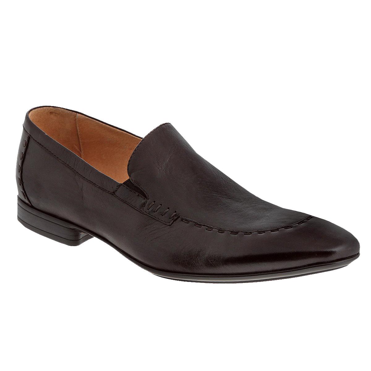 Туфли мужские. M17929M17929Изысканные мужские туфли Vitacci отлично дополнят ваш деловой образ. Модель выполнена из натуральной высококачественной кожи и декорирована крупной прострочкой на мысе и на заднике. Резинки, расположенные на подъеме, гарантируют оптимальную посадку модели на ноге. Стелька из материала EVA с внешней поверхностью из натуральной кожи комфортна при движении. Низкий каблук и подошва с рифлением обеспечивают отличное сцепление с поверхностью. Стильные туфли займут достойное место среди вашей коллекции обуви.