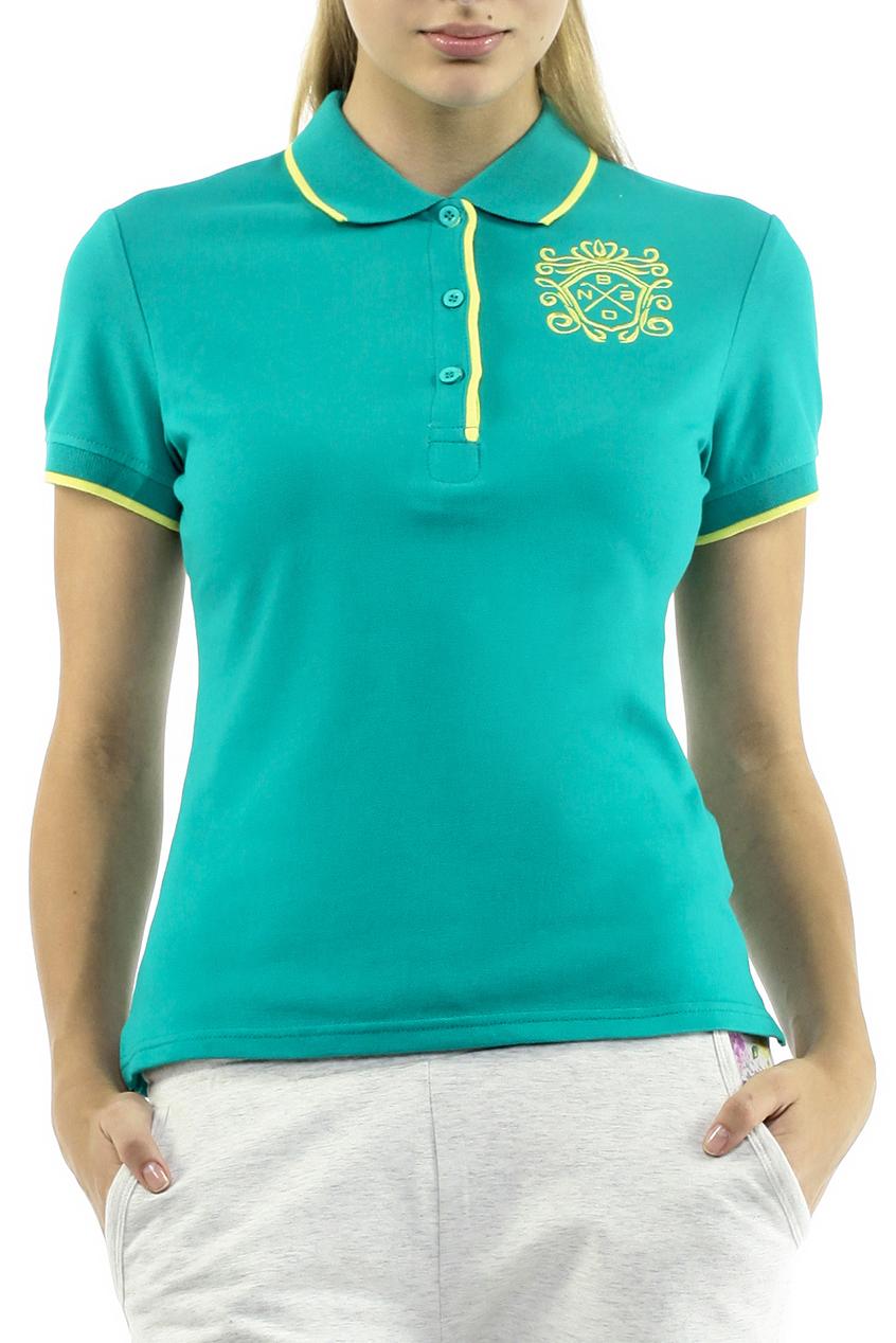 Футболка-поло женская. B205202B205202Стильная женская футболка-поло Baon с короткими рукавами, изготовленная из натурального хлопка с небольшим добавлением эластана, необычайно мягкая и приятная на ощупь, не сковывает движения, обеспечивая наибольший комфорт. Модель прямого кроя дополнена отложным воротником-поло и застежкой на три пуговицы. На груди футболка оформленным вышивкой с логотипом бренда. Эта футболка-поло очень женственна и элегантна, дополнит любой ваш образ.