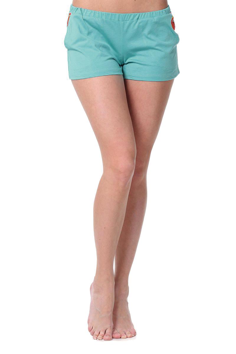 R1556-55Симпатичные женские шорты Ardi выполнены из натурального хлопка и модала. Материал очень мягкий и приятный к телу. Модель на широкой эластичной резинке. Шорты спереди дополнены двумя втачными карманами, с подкладкой из шелка. Стильные шорты - незаменимая вещь в летнем гардеробе каждой девушки.