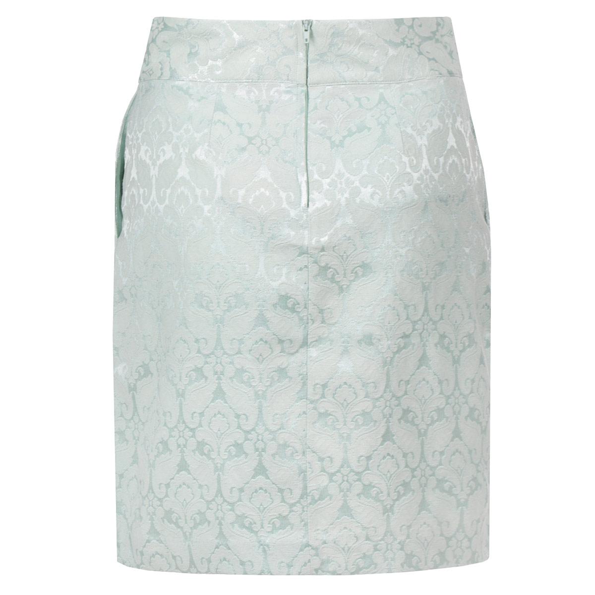 Юбка. 1014987410149874 000-whiteМодная юбка Broadway, изготовленная из высококачественного материала, подарит ощущение радости и комфорта. Модель средней длины застегивается сзади на потайную застежку-молнию и пуговицу. Юбка дополнена прорезными карманами. В этой юбке вы будете чувствовать себя неотразимой, оставаясь в центре внимания.