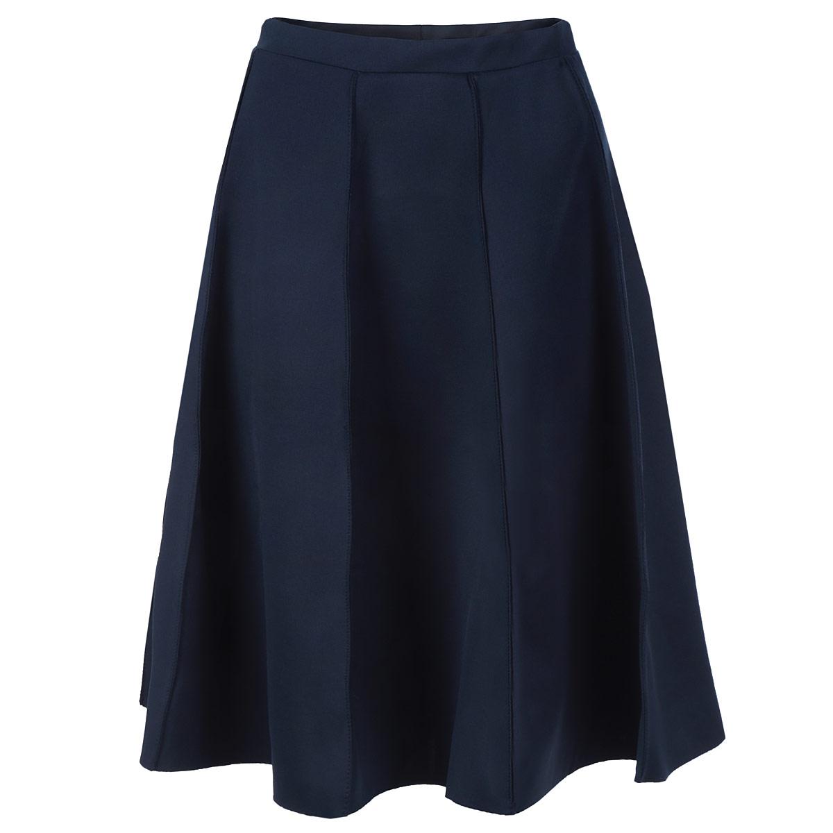 SSD0783GRСтильная юбка Top Secret длины миди изготовлена из плотного полиэстера. Юбка расклешенного кроя. На поясе - эластичная резинка. Эта модная и в тоже время комфортная юбка - отличный вариант на каждый день.