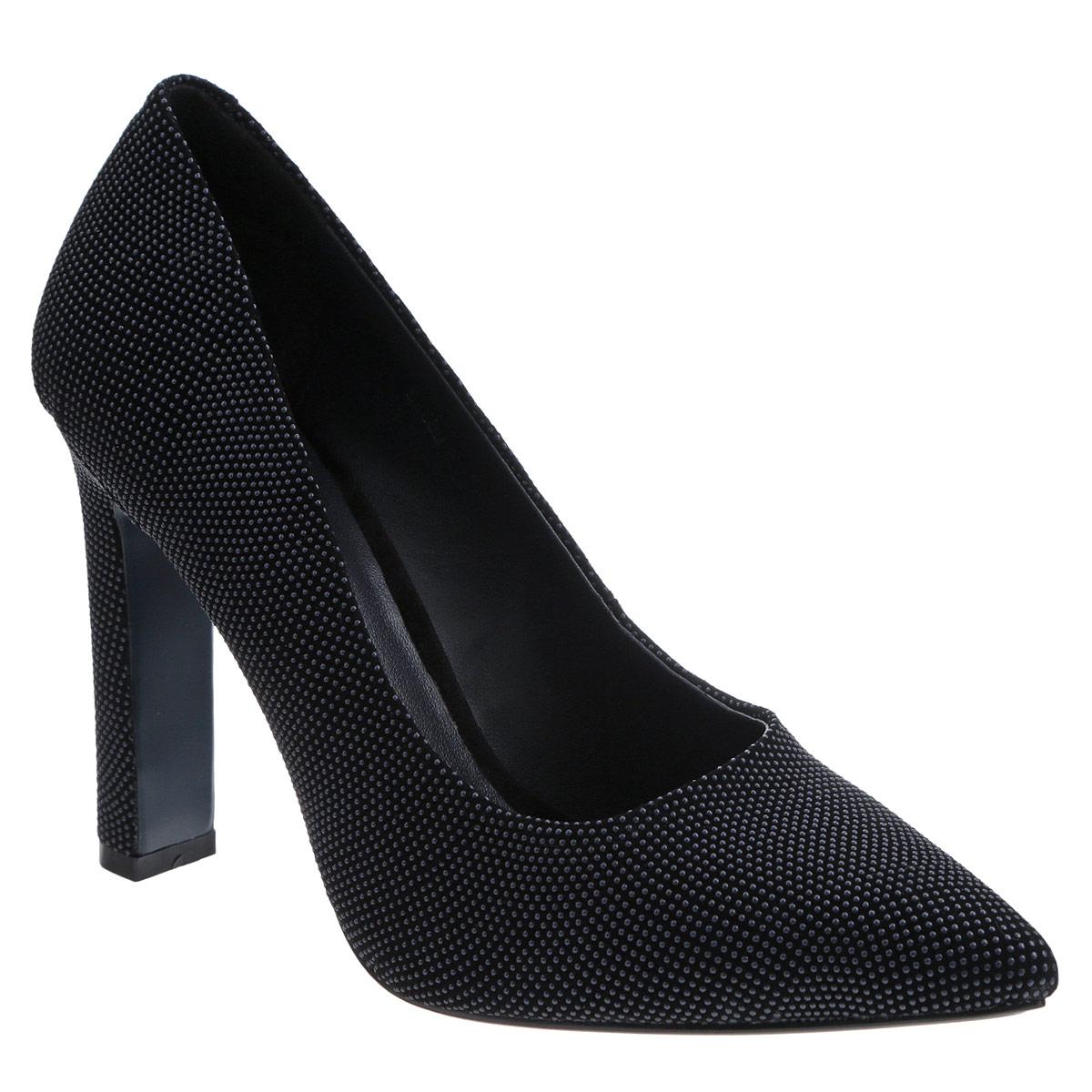 Туфли женские. 5268952689Изысканные женские туфли от Antonio Biaggi эффектно дополнят ваш модный образ. Модель на высоком каблуке выполнена из высококачественной натуральной замши и декорирована пластиковыми бусинами. Зауженный носок смотрится стильно. Стелька из натуральной кожи обеспечивает комфорт при ходьбе. Подошва и каблук дополнены противоскользящим рифлением. Стильные туфли подчеркнут вашу яркую индивидуальность, позволят выделиться среди окружающих.