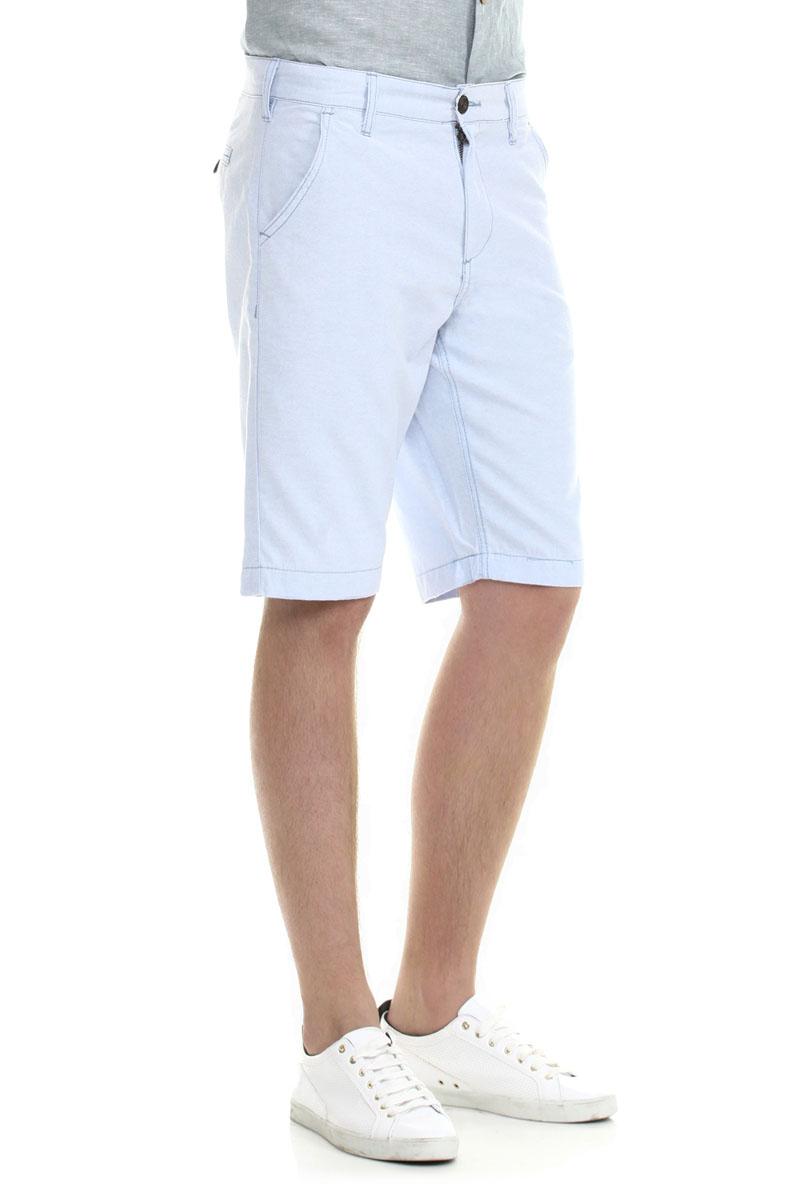 Шорты мужские. B825423B825423_ANGEL BLUEМужские шорты Baon классического кроя станут отличным дополнением к вашему современному образу. Застегивается модель на пуговицу и ширинку на застежке-молнии, имеются шлевки для ремня. Спереди модель оформлена двумя втачными карманами с косыми срезами, а сзади - двумя втачными карманами на пуговицах. Эти модные шорты послужат отличным дополнением к вашему гардеробу. В них вы всегда будете чувствовать себя уверенно и комфортно.
