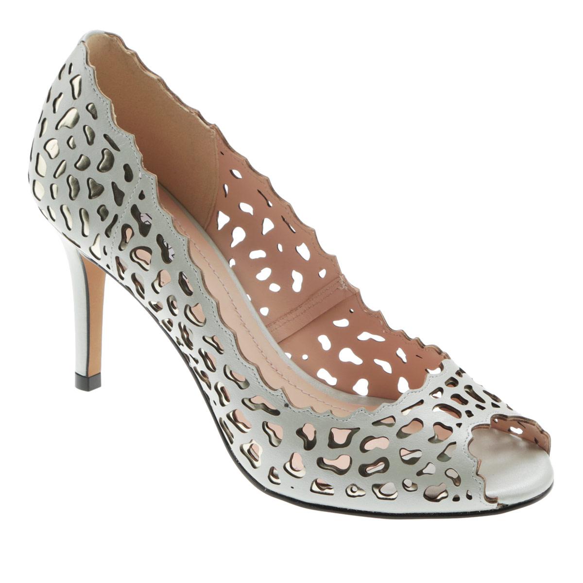 Туфли женские. 8-047038-04703Яркие женские туфли на шпильке от Werner прекрасно подчеркнут ваш стиль. Верх модели выполнен из натуральной кожи и оформлен перфорированным рисунком. Рельефные края придают оригинальности изделию. Внутренняя часть и стелька из натуральной кожи гарантируют комфорт и удобство при ходьбе. Открытый носок добавляет женственности в образ. Высокий тонкий каблук подчеркнет красоту и стройность ваших ног. Подошва выполнена из прочного полимера с противоскользящим рифлением. Такие туфли станут прекрасным дополнением вашего гардероба. Они сделают вас ярче и подчеркнут вашу индивидуальность!