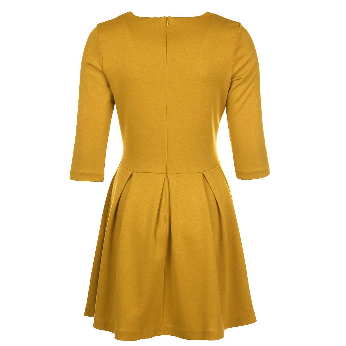 Платье. 5085-15085-1Элегантное платье Mondigo изготовлено из высококачественного материала. Такое платье обеспечит вам комфорт и удобство при носке. Платье с рукавами до локтя и с круглым вырезом горловины понравится любой ценительнице классического стиля. Платье имеет пришивную расклешенную юбку средней длины. Застегивается изделие на потайную молнию на спинке. Приталенный силуэт великолепно подчеркнет достоинства фигуры. Изысканный наряд создаст обворожительный неповторимый образ. Это модное и удобное платье станет превосходным дополнением к вашему гардеробу, оно подарит вам удобство и поможет вам подчеркнуть свой вкус и неповторимый стиль.