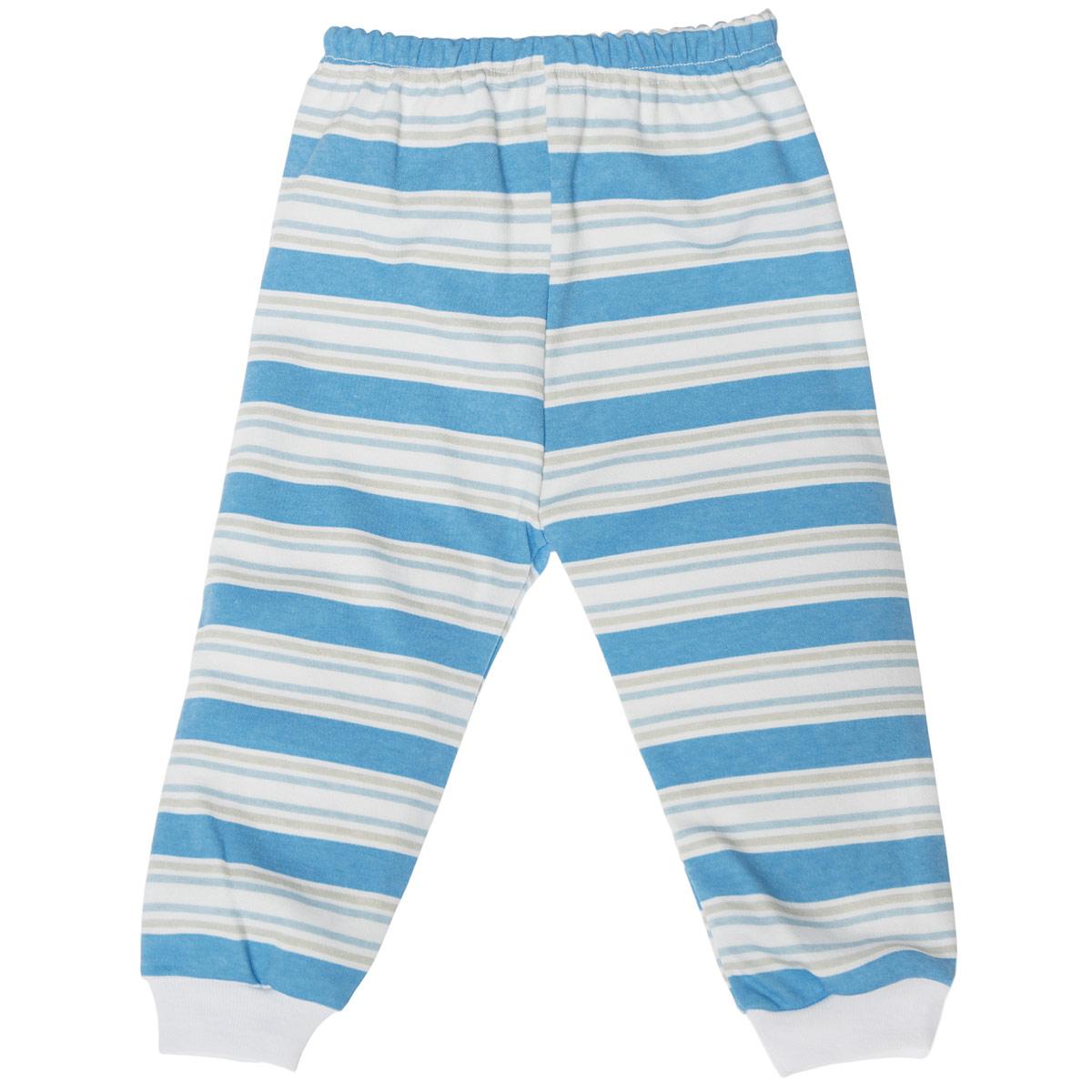 Штанишки5315_полоскаУдобные штанишки Трон-плюс идеально подойдут вашему ребенку и станут отличным дополнением к детскому гардеробу. Изготовленные из натурального хлопка, они необычайно мягкие и легкие, не сковывают движения, позволяют коже дышать и не раздражают даже самую нежную и чувствительную кожу ребенка. Штанишки на талии имеют эластичную резинку, благодаря чему они не сдавливают животик ребенка и не сползают. Низ штанишек дополнен широкими эластичными манжетами. Оформлена модель принтом в полоску. В таких штанишках ваш ребенок будет чувствовать себя комфортно и уютно.