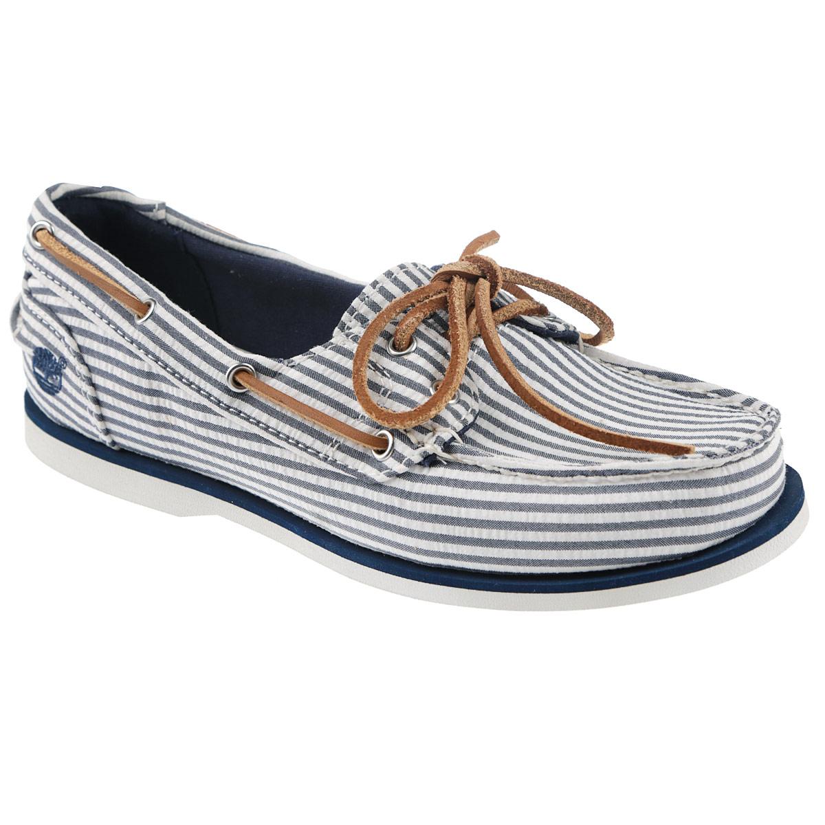Топсайдеры женские Canvas Boat Shoe. TBL8910AW