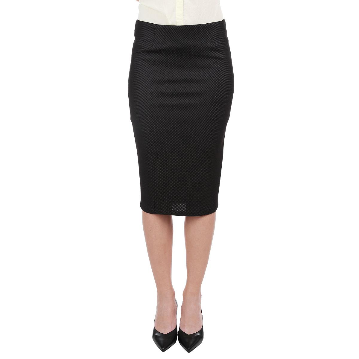 ЮбкаSSW1744CAМодная юбка-карандаш Top Secret, изготовленная из плотного фактурного материала с подкладом из полиэстера, подарит ощущение радости и комфорта. Модель классического фасона на талии, застегивается сзади на потайную застежку-молнию. Облегающий крой позволит подчеркнуть все достоинства вашей фигуры. В этой юбке вы будете чувствовать себя неотразимой, оставаясь в центре внимания. Отличный вариант для офиса.
