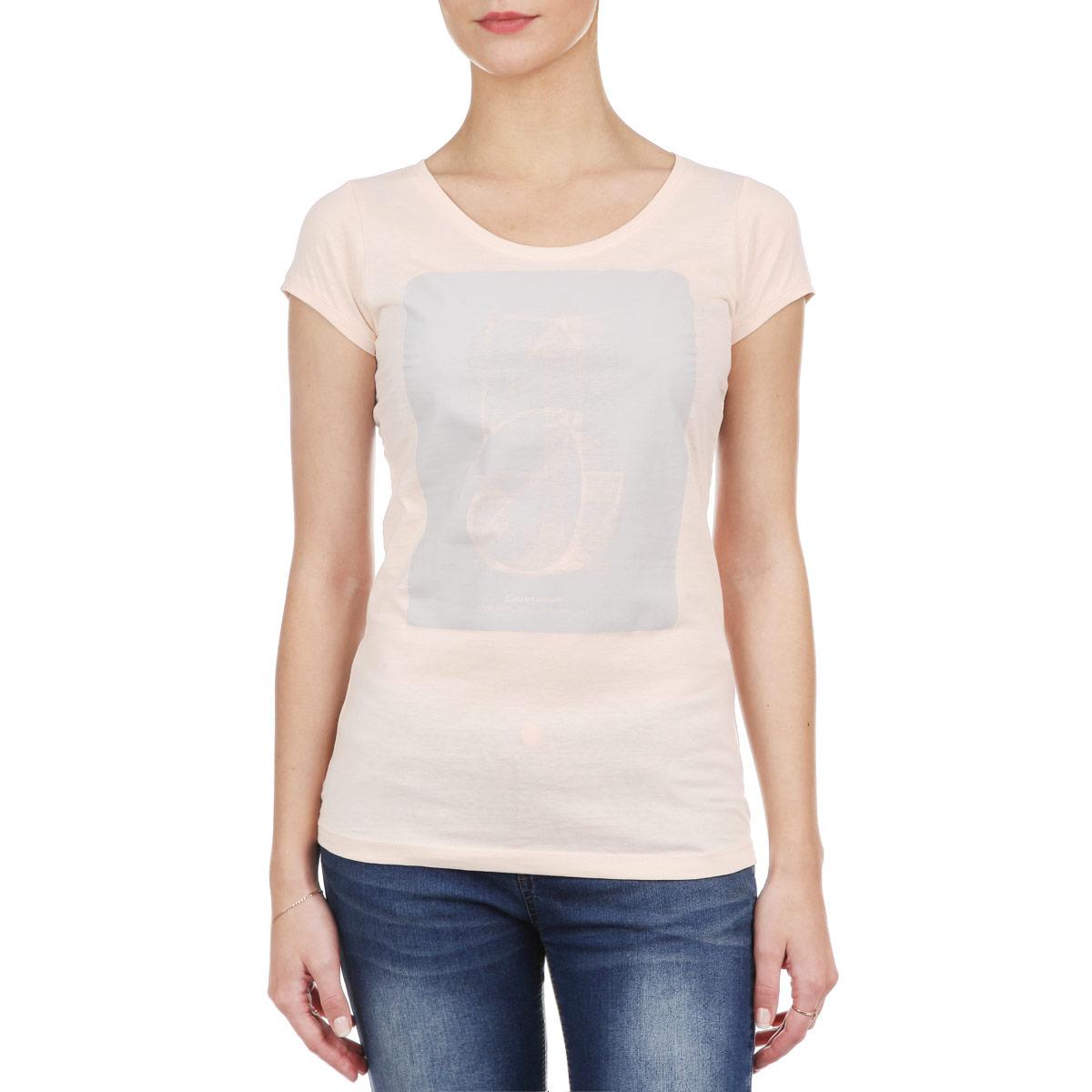 Футболка женская. 1015244830H/1015244899I10152448 30HСтильная женская футболка Broadway, выполненная из высококачественного материала, обладает высокой теплопроводностью, воздухопроницаемостью и гигроскопичностью, позволяет коже дышать. Модель с короткими рукавами и круглым вырезом горловины - идеальный вариант для создания образа в стиле Casual. Футболка оформлена оригинальным принтом. Такая модель подарит вам комфорт в течение всего дня и послужит замечательным дополнением к вашему гардеробу.