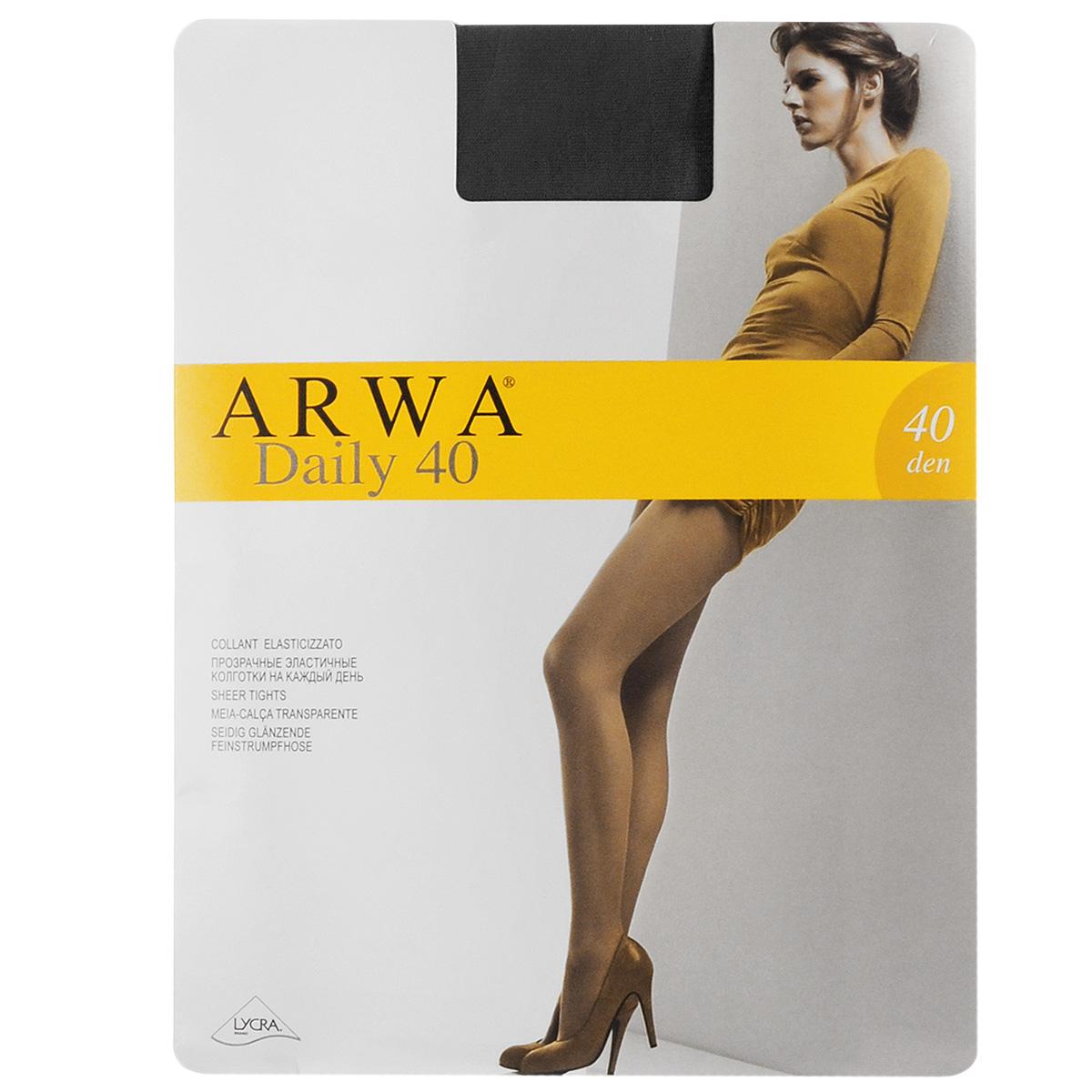 Колготки женские Daily 40801AR DailyТонкие эластичные колготки Arwa Daily с удобным швом - отличный выбор на каждый день. Плотность: 40 den.