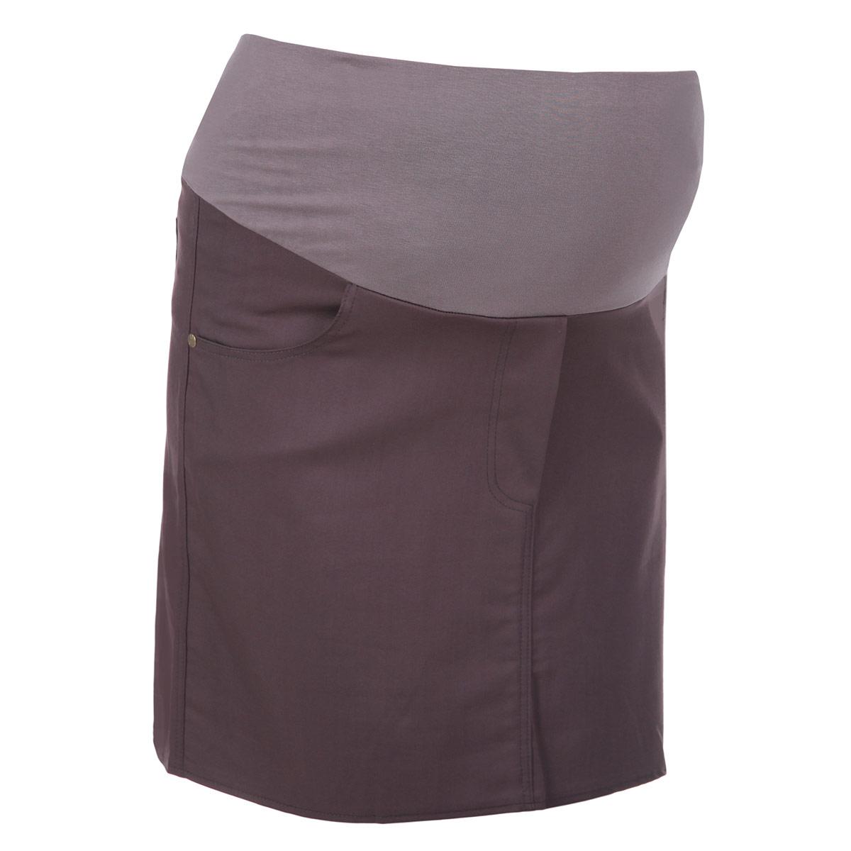 6107.1Стильная и удобная юбка для беременных Nuova Vita станет отличным дополнением вашего летнего гардероба и подчеркнет очарование будущей мамы. Юбка-миди выполнена из высококачественного материала, она невероятно мягкая и приятная на ощупь. Модель оснащена высоким удобным бандажом, дополнительно поддерживающим живот. Юбка дополнена двумя втачными карманами спереди и двумя накладными карманами сзади, а также оформлена имитацией ширинки. Юбка выполнена из вискозы с добавлением полиэстера и эластана. Вискоза является волокном, произведенным из натурального материала - целлюлозы (древесины). Иногда ее называют древесный шелк. Эта ткань на ощупь мягкая и приятная, образует красивые складки. Материал очень хорошо впитывает влагу, не образует катышек со временем, не выцветает на солнце и обладает приятным шелковистым блеском.