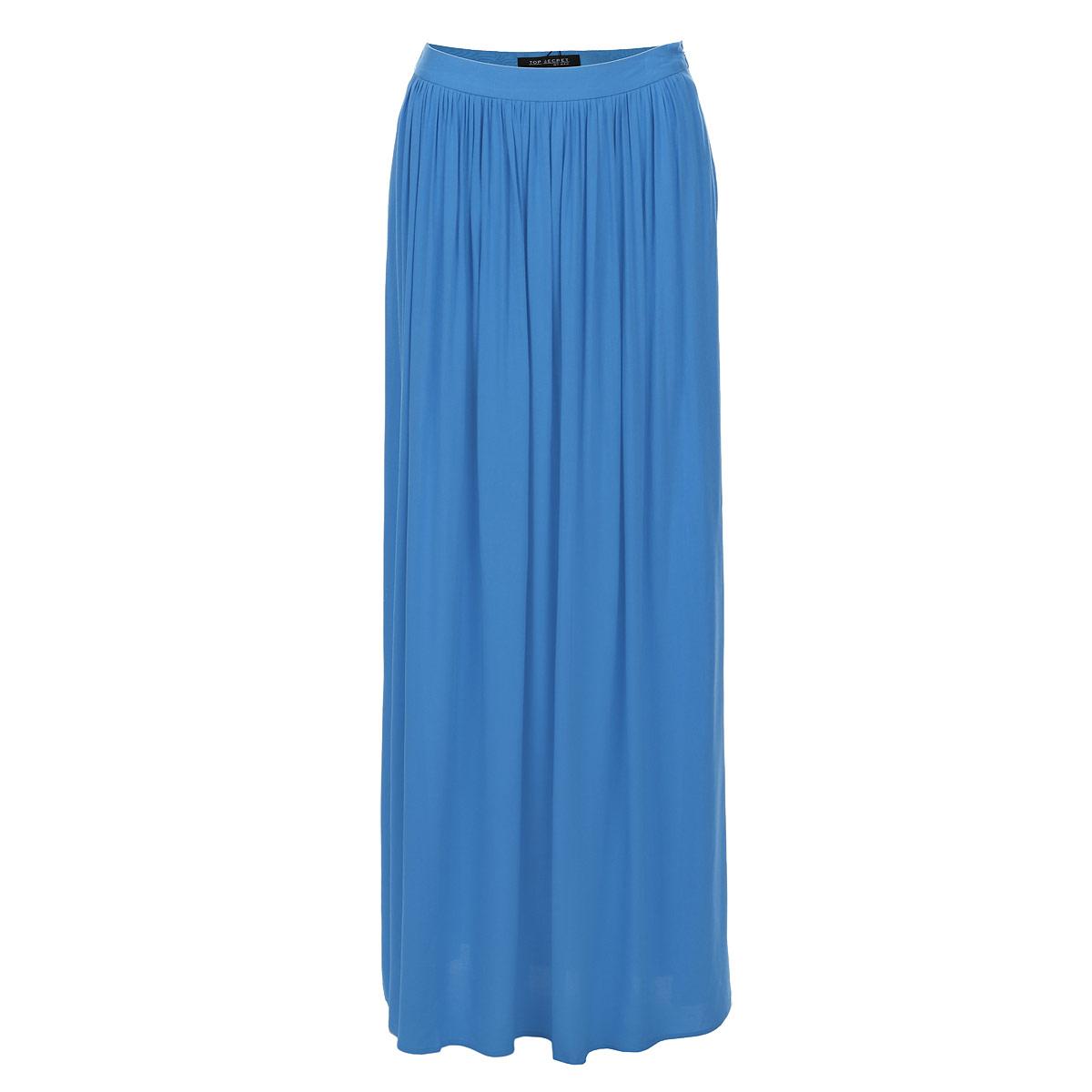 ЮбкаSSD0819NIМодная длинная юбка Top Secret станет прекрасным дополнением вашего гардероба. Изготовленная из 100% вискозы, она очень мягкая на ощупь, не раздражает кожу и хорошо вентилируется. Модель макси длины на поясе застегивается на скрытую застежку-молнию и дополнительно на крючок. Эффектная юбка позволит вам создать неповторимый женственный образ.
