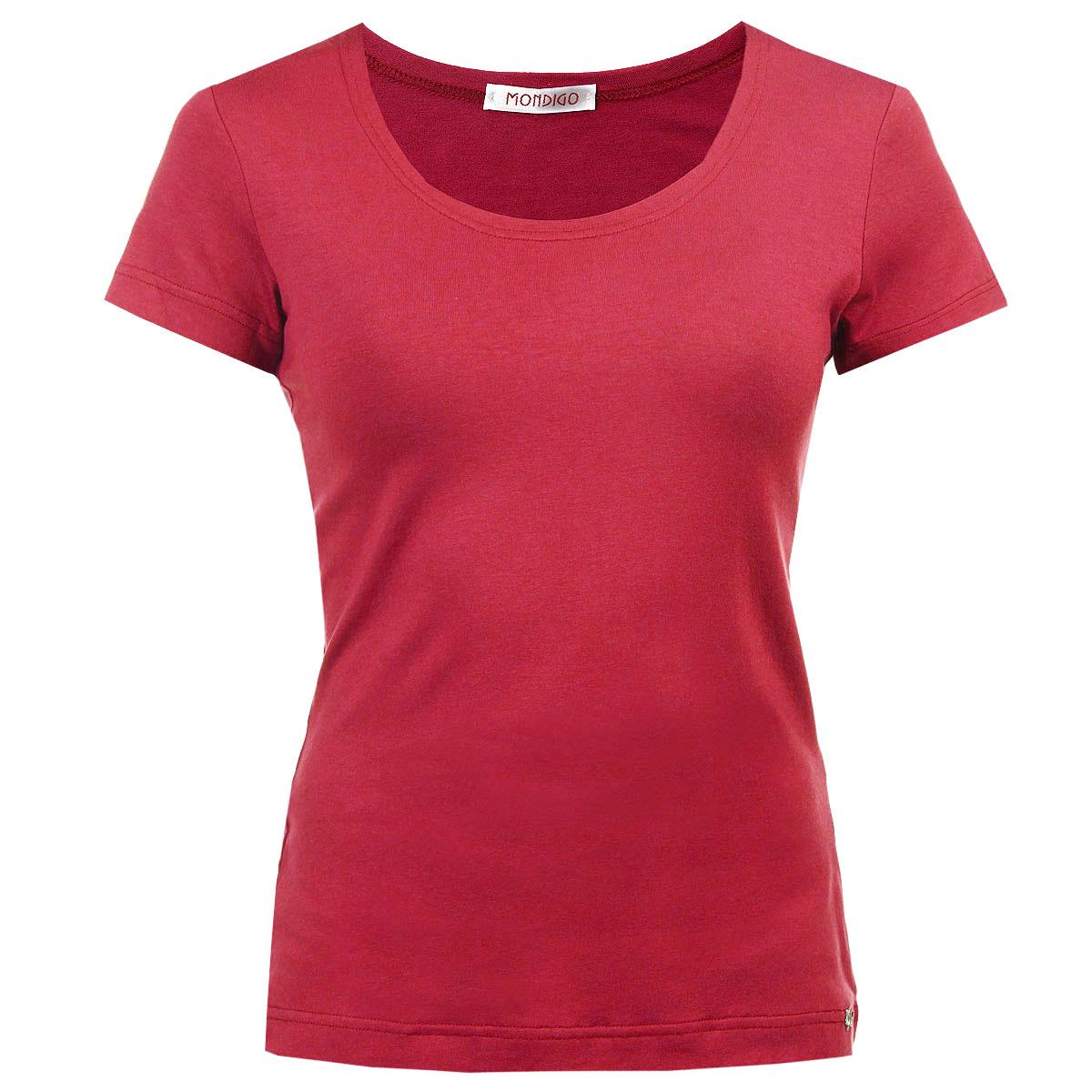 Женские однотонные футболки