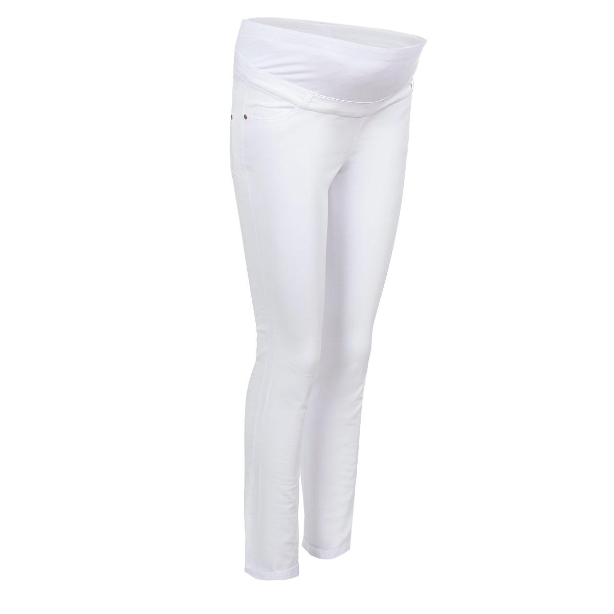 Брюки5422.2Стильные брюки для беременных Nuova Vita выполнены из тонкого эластичного материала. Ткань приятная на ощупь, не вызывает раздражений и надежно сохраняет тепло. Модель прямого кроя с удобным бандажом на живот и регулируемой резинкой, позволяющей носить эти брюки вплоть до 9 месяца беременности. Спереди брюки дополнены двумя втачными карманами, сзади - двумя накладными карманами. На поясе предусмотрены шлевки для ремня. Такие брюки подарят вам комфорт и свободу движений и займут достойное место в гардеробе молодой мамы.