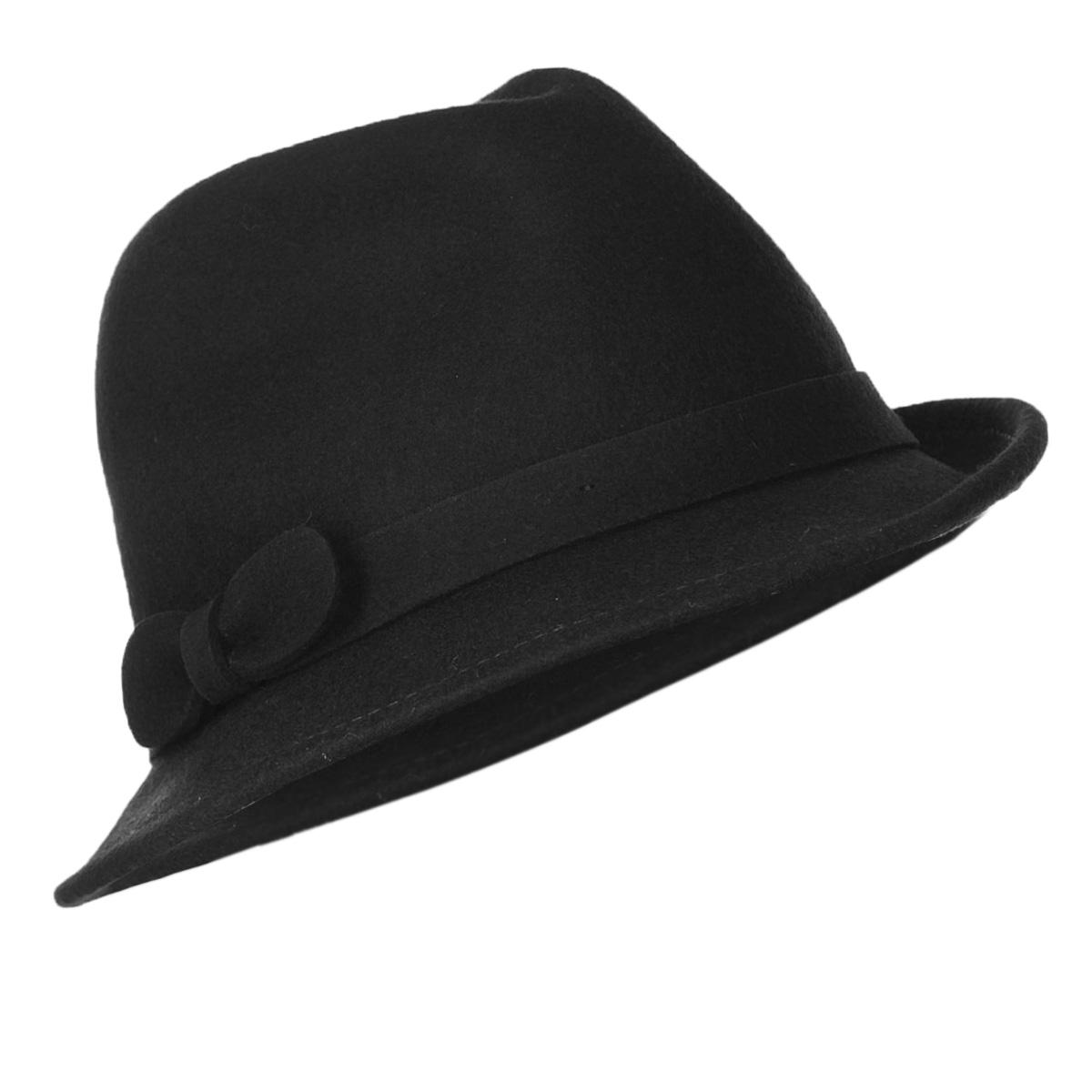 Шляпа женская Palatina3430301Элегантная шляпа Canoe Palatina, выполненная из натуральной шерсти, непременно украсит любой наряд. Шляпа оформлена тонкой лентой вокруг тульи из того же материала и декоративным бантом. Небольшие, слегка загнутые поля шляпы придадут вашему образу женственности и изящества. Внутри модели имеется вставка со скрытым шнурком, который при необходимости можно утянуть для лучшей посадки по голове. Такая шляпа подчеркнет ваш неповторимый стиль и дополнит ваш повседневный образ.