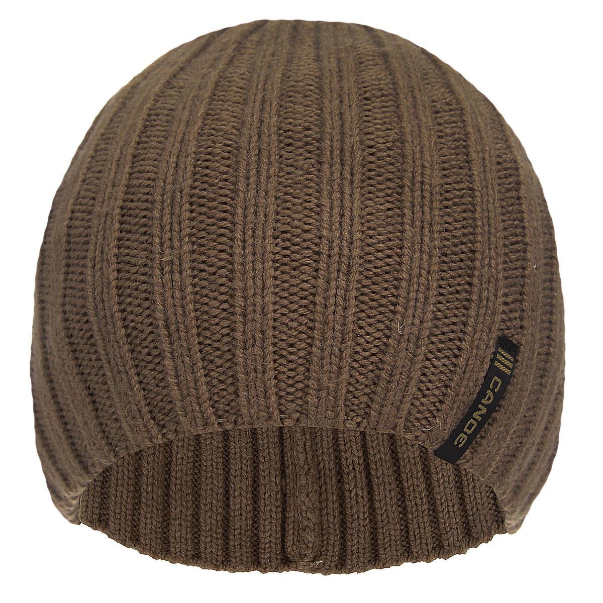 Шапка мужская Trango3442087Стильная мужская шапка Canoe Trango отлично дополнит ваш образ в холодную погоду. Сочетание шерсти и акрила максимально сохраняет тепло и обеспечивает удобную посадку. Удлиненная шапка имеет специальную вязку ластиком. Такая модель комфортна и приятна на ощупь, она великолепно подчеркнет ваш вкус. Такая шапка станет отличным дополнением к вашему осеннему или зимнему гардеробу, в ней вам будет уютно и тепло!