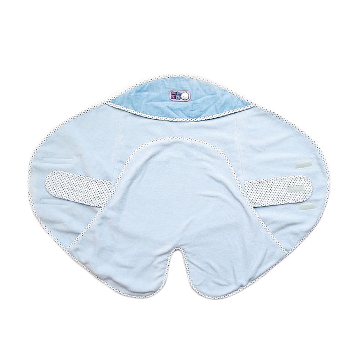 Е115048Теплый и уютный конверт Baby Nice станет незаменимым предметом детского гардероба. Двухслойный конверт выполнен из мягкого и приятного на ощупь вельвета (100% хлопка) на подкладке из теплого мягкого флиса. Гипоаллергенный конверт максимально функционален в использовании, благодаря своей специально разработанной конструкции: внутри вшиты удобные тканевые крепления на липучке, которые обхватывают ребенка, надежно фиксируют на его поясе конверт, обеспечивая плотное прилегание. Карманы для ног внутри позволяют вашему малышу всегда держать ножки в тепле. Также предусмотрен капюшон, которым можно воспользоваться в случае необходимости или в ветреную погоду. Благодаря липучкам можно регулировать ширину конверта. Оформлено изделие контрастными бейками, украшенными гороховым принтом, а также оригинальной нашивкой с названием бренда. Такой конверт - очень комфортная одежда для младенца при любых погодных условиях.