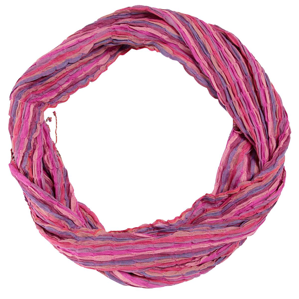 128075нСтильный женский шарф Ethnica выполнен из мягкой вискозы с жатым эффектом. Ткань прекрасно драпируется и дарит чувство комфорта. Шарф добавит оригинальности вашему образу. Края изделия оформлены кисточками. Если вы любите фантазировать и не страшитесь экспериментов с собственным имиджем - попробуйте превратить шарф в головную повязку или легкий аксессуар для дамской сумочки. Правильно подобранный шарф делает образ женщины завершенным! Такой аксессуар достойно дополнит ваш гардероб.