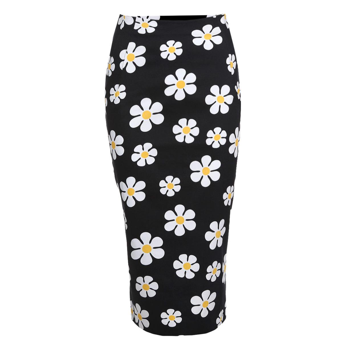 Юбка. 5194-25194-2Модная юбка-карандаш Mondigo, изготовленная из плотного хлопкового материала, подарит ощущение радости и комфорта. Модель классического фасона на талии, застегивается на потайную застежку-молнию. Юбка оформлена цветочным принтом. Облегающий крой подчеркнет все достоинства вашей фигуры. В этой юбке вы будете чувствовать себя неотразимой, оставаясь в центре внимания.