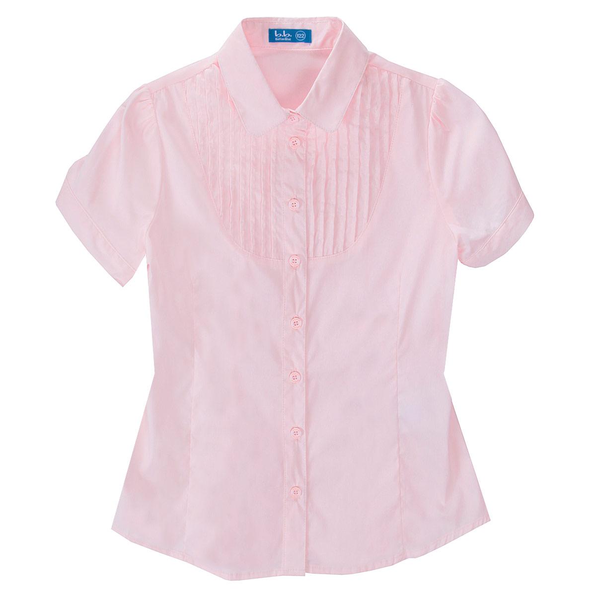 Блуза для девочки. 215BBGS2207/215BBGS2208215BBGS2207Стильная блуза для девочки Button Blue - удачное решение для жарких школьных классов! Изготовленная из хлопка с добавлением нейлона и эластана, она необычайно мягкая и приятная на ощупь, не сковывает движения и позволяет коже дышать, не раздражает даже самую нежную и чувствительную кожу ребенка, обеспечивая ему наибольший комфорт. Блузка приталенного кроя с короткими рукавами-фонариками и отложным воротничком застегивается на пуговички. Низ модели по бокам закруглен. Блузку украшает оригинальная кокетка с защипами, а также интересная конструкция рукава с застежкой на пуговицу. Такая блуза - незаменимая вещь для школьной формы, отлично сочетается с юбками, брюками и сарафанами.