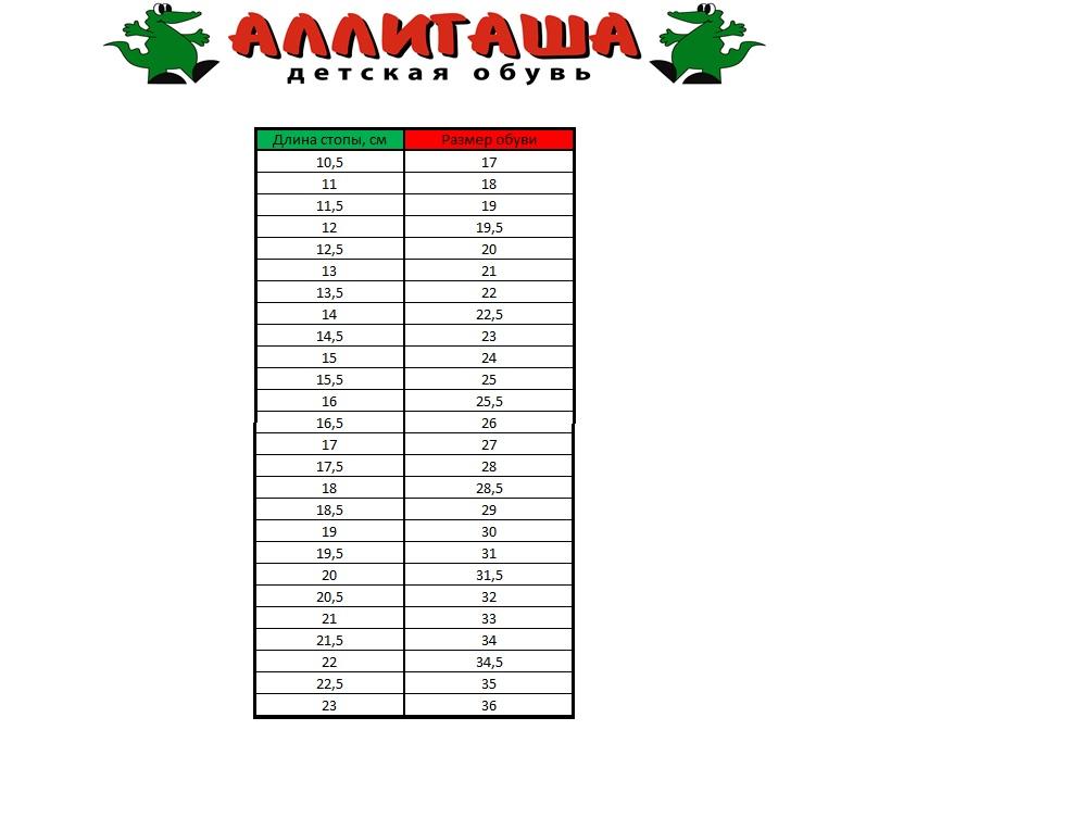 Аллигаша Балетки для девочки. 13-341