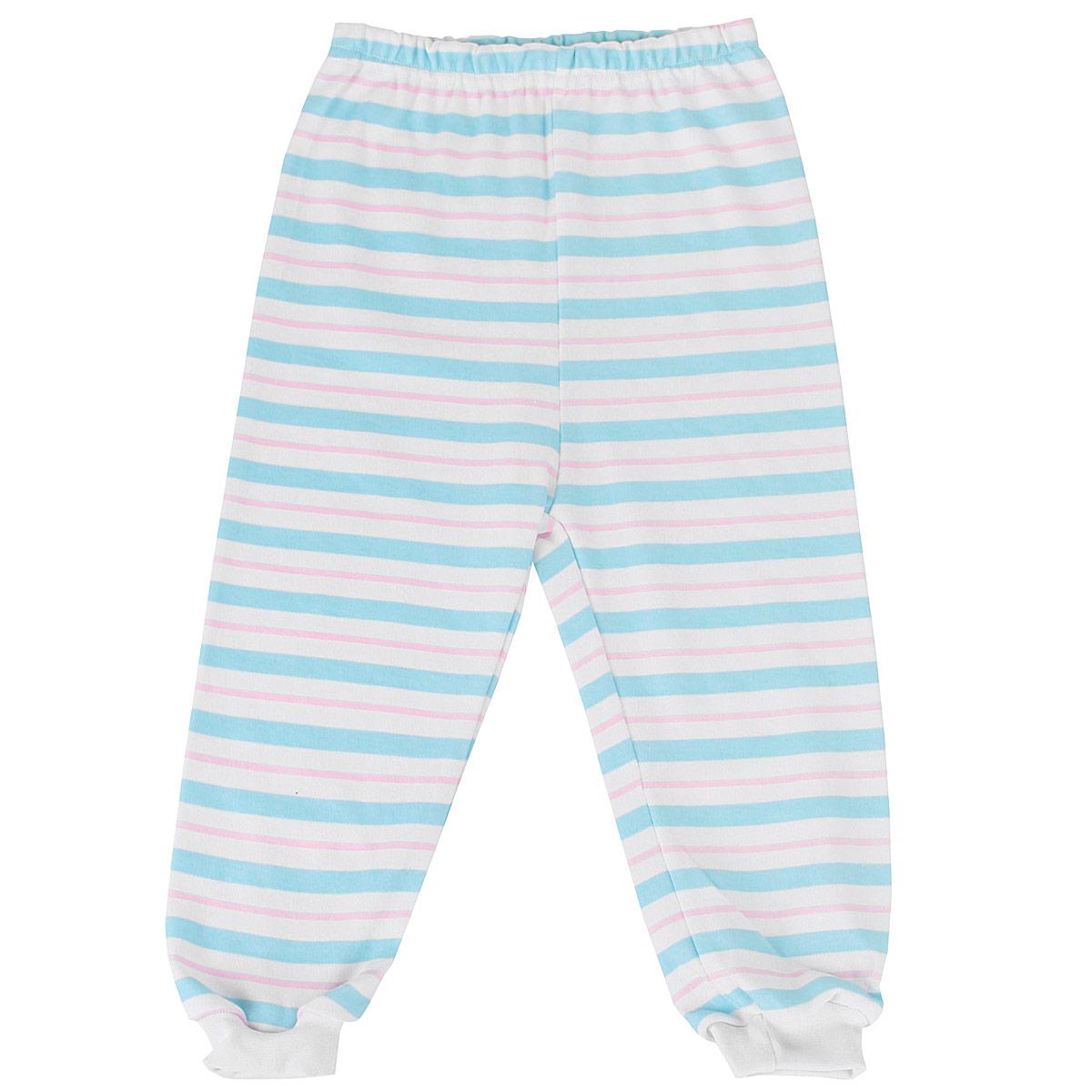 5315_полоскаУдобные штанишки Трон-плюс идеально подойдут вашему ребенку и станут отличным дополнением к детскому гардеробу. Изготовленные из натурального хлопка, они необычайно мягкие и легкие, не сковывают движения, позволяют коже дышать и не раздражают даже самую нежную и чувствительную кожу ребенка. Штанишки на талии имеют эластичную резинку, благодаря чему они не сдавливают животик ребенка и не сползают. Низ штанишек дополнен широкими эластичными манжетами. Оформлена модель принтом в полоску. В таких штанишках ваш ребенок будет чувствовать себя комфортно и уютно.