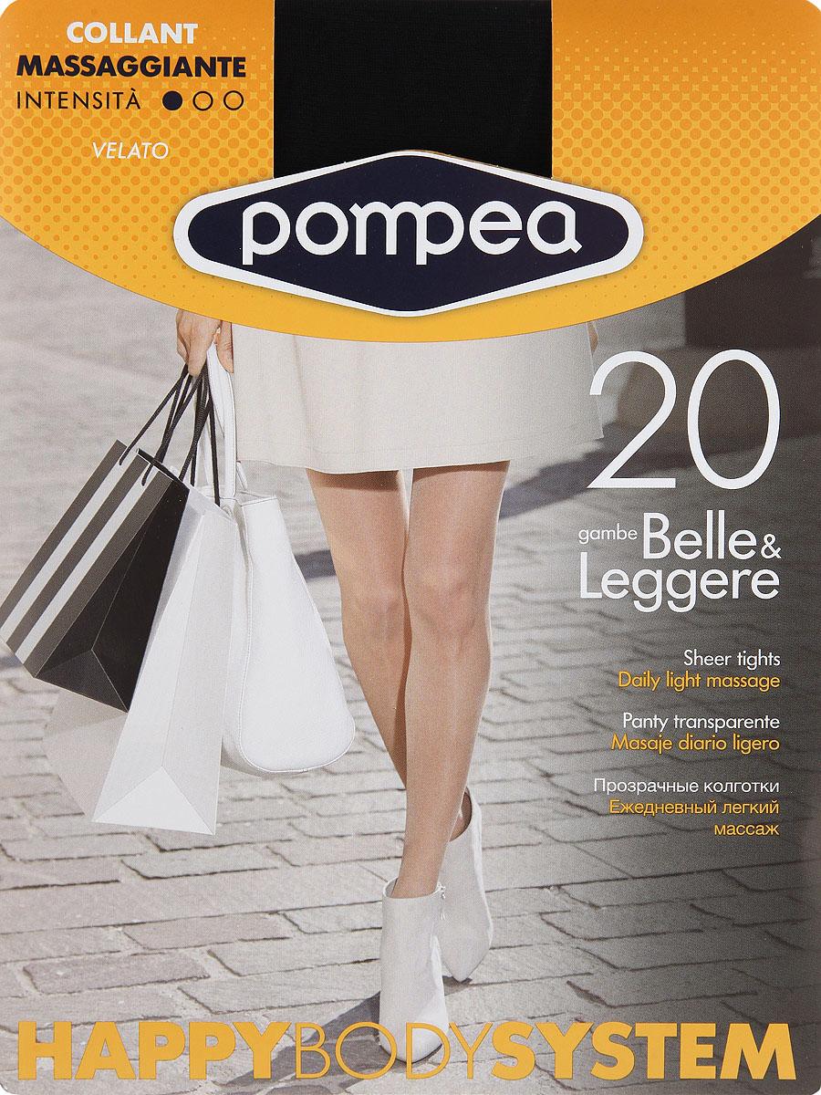 Колготки женские Happy Body System. 9076928490769284 BronzeМатовые эластичные колготки Pompea Happy Body System, с распределенным легким давлением, укрепленными трусиками, ластовицей и прозрачным мыском. Плотность: 20 den.