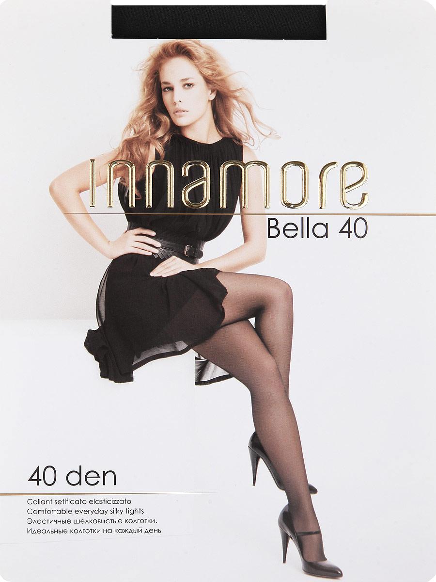 Колготки Bella 40Bella 40Эластичные шелковистые колготки с шортиками, комфортным поясом, укрепленным прозрачным мыском. Идеальные колготки на каждый день. Плотность: 40 den.
