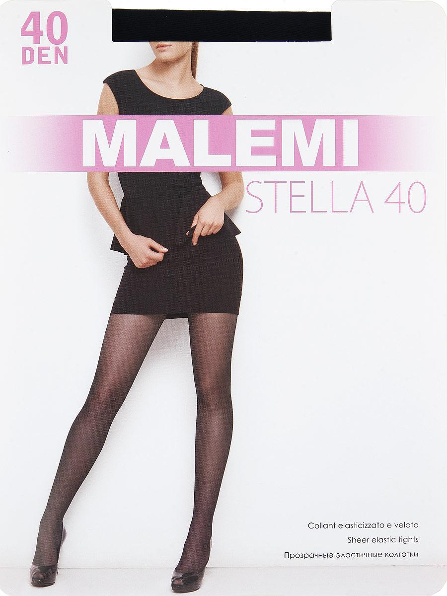 Колготки Stella 40Stella 40Прозрачные эластичные колготки с шортиками, комфортным поясом и прозрачным укрепленным мыском. Плотность: 40 den.