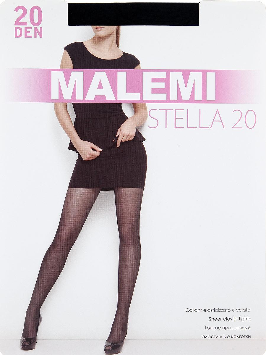Колготки Stella 20Stella 20Тонкие прозрачные эластичные колготки с шортиками, комфортным поясом и прозрачным укрепленным мыском. Плотность: 20 den.