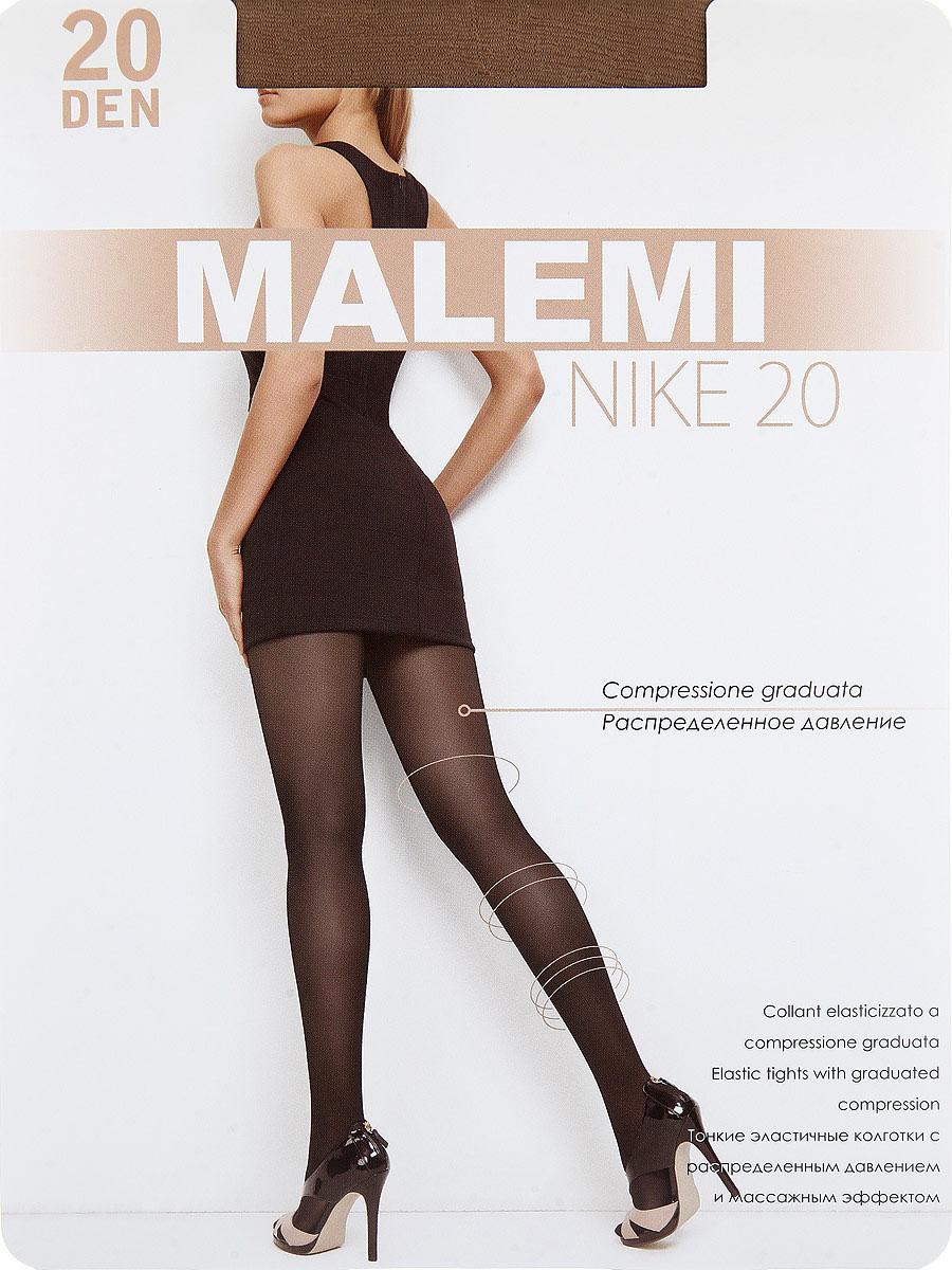 Колготки Nike 20Nike 20Тонкие эластичные колготки с шортиками, массажным эффектом и распределенным по ноге давлением. Стимулируют кровообращение и снимают усталость. Комфортный пояс, хлопковая гигиеническая ластовица, укрепленный прозрачный мысок. Плотность: 20 den.