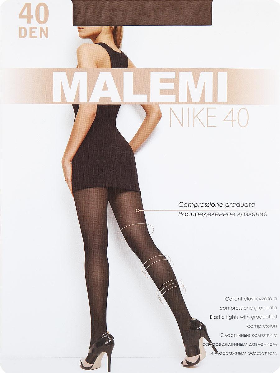 Колготки Nike 40Nike 40Тонкие эластичные колготки с шортиками, массажным эффектом и распределенным по ноге давлением. Стимулируют кровообращение и снимают усталость. Комфортный пояс, хлопковая гигиеническая ластовица, укрепленный прозрачный мысок. Плотность: 40 den.