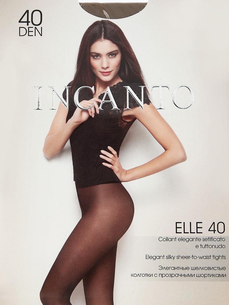 Колготки Elle 40Elle 40Элегантные шелковистые колготки с прозрачными шортиками. Комфортный широкий пояс, плоский шов, гигиеническая ластовица, прозрачный укрепленный мысок. Плотность: 40 den.