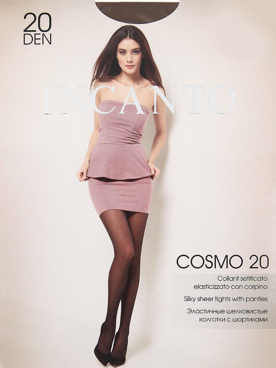 Колготки Cosmo 20Cosmo 20Эластичные шелковистые колготки с шортиками, комфортным поясом и прозрачным укрепленным мыском. Плотность: 20 den.