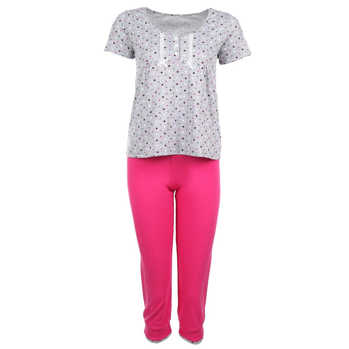 Milana Style Комплект женский: футболка, бриджи. 29