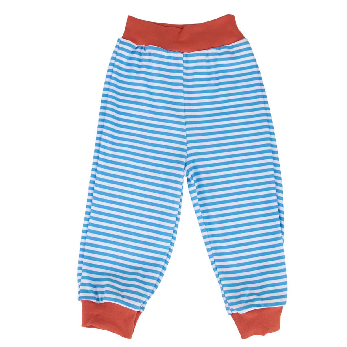 Штанишки на широком поясе для мальчика. 35613561Удобные штанишки для мальчика КотМарКот на широком поясе послужат идеальным дополнением к гардеробу вашего малыша. Штанишки, изготовленные натурального хлопка, они необычайно мягкие и легкие, хорошо вентилируются, совершенно не сковывают движений и не раздражают нежную кожу ребенка. Штанишки, благодаря широкому эластичному поясу, не сдавливают животик ребенка и не сползают, обеспечивая ему наибольший комфорт. Они идеально подходят для ношения с подгузником и без него. Модель оформлена принтом в полоску. Низ штанин дополнен эластичными манжетами. Штанишки очень удобный и практичный вид одежды для малышей, которые уже немного подросли. Отлично сочетаются с футболками, кофточками и боди. В таких штанишках вашему малышу будет уютно и комфортно!