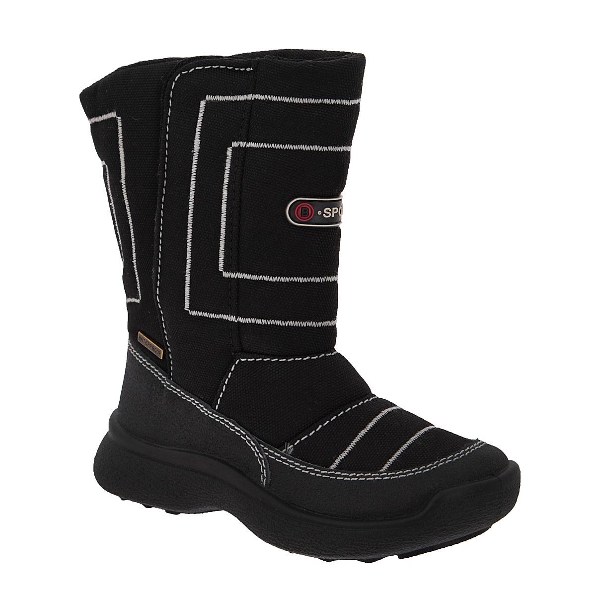 11-155Замечательные сапоги для мальчика Аллигаша, изготовленные из современных материалов, обеспечат удобство и комфорт ножкам вашего малыша в прохладную погоду. Верх выполнен из комбинаций натуральной кожи и текстиля. Технология TEGINA-TEX - это обувь с применением специальной подкладочной мембраны, которая позволяет ноге дышать и абсолютно непроницаемо снаружи для воды и холода. На морозе удерживается тепло, а в помещении нога не потеет. Модель на высокой рифленой подошве с округлым мыском обеспечивает удобство и практичность на каждый день. Удобная пяточная часть укреплена. Внутренняя отделка из текстиля и шерсти. Удобная застежка-липучка на внешней стороне голенища обеспечивает практичность и комфортную фиксацию модели на ноге. Стелька из натуральной шерсти не даст ножке замерзнуть. Оформлена модель прострочкой, а также прорезиненной вставкой и металлической пластиной. В таких сапожках ножкам вашего ребенка всегда будет комфортно, уютно и тепло!