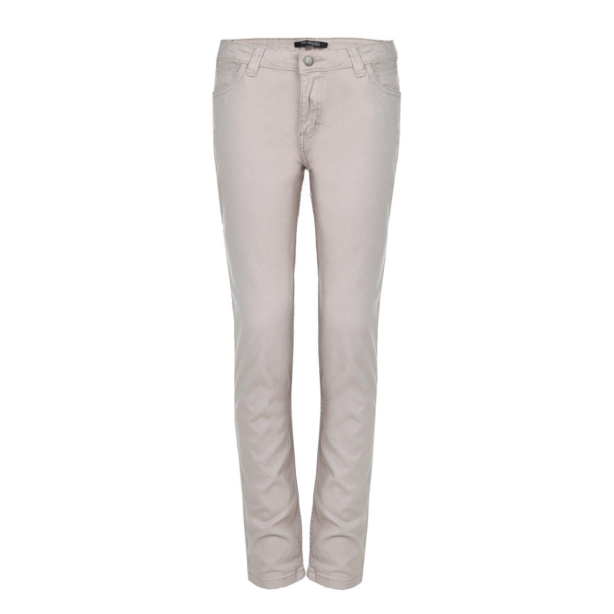 Брюки женские. SSP2021SSP2021GBСтильные женские брюки Top Secret - отличный выбор на каждый день, они прекрасно сидят и подчеркнут все достоинства вашей фигуры. Модель прямого кроя, слегка зауженного к низу, и средней посадки изготовлена из хлопка с небольшим добавлением эластана. Застегиваются брюки на пуговицу в поясе и ширинку на застежке-молнии, предусмотрены шлевки для ремня. Спереди модель оформлена двумя втачными карманами и одним небольшим секретным кармашком, а сзади - двумя накладными карманами. Эти модные и в тоже время комфортные брюки послужат отличным дополнением к вашему гардеробу. В них вы всегда будете чувствовать себя уютно и комфортно.