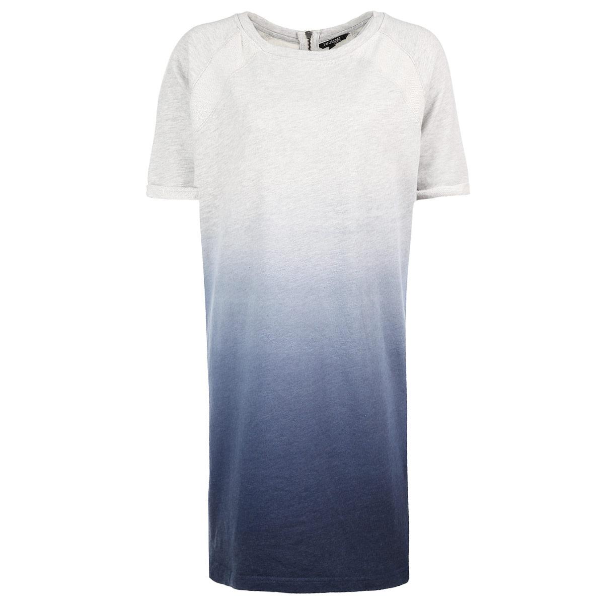 Платье. SSU1360GBSSU1360GBМодное трикотажное платье Top Secret, выполненное из высококачественного материала, обладает высокой теплопроводностью, воздухопроницаемостью и гигроскопичностью, позволяет коже дышать, очень комфортно при носке. Модель свободного кроя с рукавами длиной до локтя и круглым вырезом горловины - прекрасная комбинация комфорта и стиля. На спинке платье застегивается на металлическую молнию. Рукава оформлены небольшими отворотами. Такая модель будет дарить вам комфорт и послужит замечательным дополнением к вашему гардеробу.
