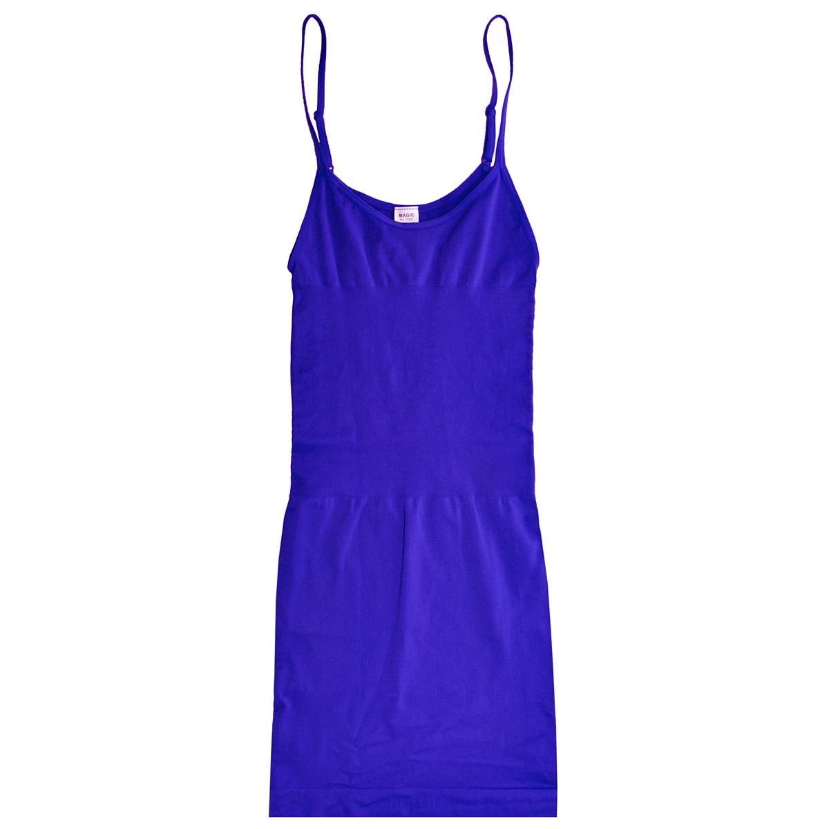 Корректирующее белье15BDБесшовное корректирующее платье Magic BodyFashion Seamless Dress на тонких регулируемых бретелях очень удобное и комфортное в носке. Модель уменьшает живот и бедра, заметно корректирует объемы. Платье придаст вашему телу идеальные формы: сделает грудь и ягодицы подтянутыми, талию - стройной, а осанку - прямой. Функциональный покрой заметно подтягивает и моделирует фигуру, скрывая ее недостатки. Крой платья необычен, благодаря чему его невозможно заметить под любой одеждой, оно практически не ощущается на коже, позволяет чувствовать себя комфортно и легко. Изделие позволяет приобрести выразительные линии своего тела за считанные секунды (можно скрыть все лишнее и придать объем там, где необходимо). Белье Magic BodyFashion создано для тех, кто стремится к безупречности своего стиля. Именно благодаря ему огромное количество женщин чувствуют себя поистине соблазнительными, привлекательными и не на шутку уверенными в себе.